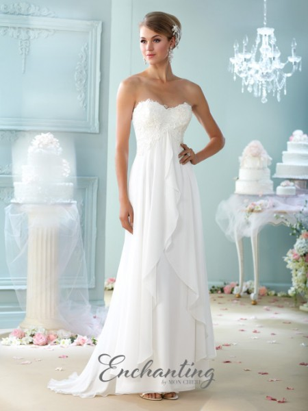Picture of 215108 Wedding Dress - Enchanting by Mon Cheri Fall 2015 Bridal Collection