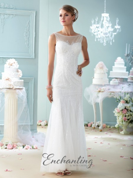 Picture of 215113 Wedding Dress - Enchanting by Mon Cheri Fall 2015 Bridal Collection