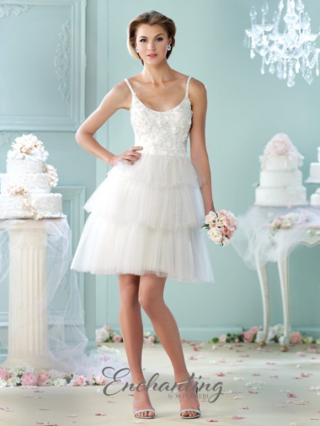 Picture of 215114 Wedding Dress - Enchanting by Mon Cheri Fall 2015 Bridal Collection