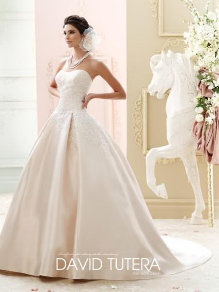 Picture of 215260 - Glinda Wedding Dress - David Tutera for Mon Cheri Fall 2015 Bridal Collection