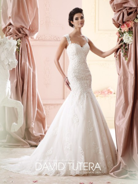 Picture of 215261 - Maggie Wedding Dress - David Tutera for Mon Cheri Fall 2015 Bridal Collection