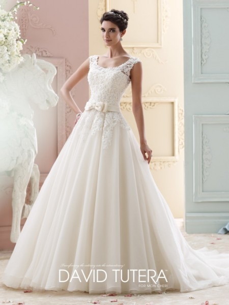 Picture of 215263 - Marmee Wedding Dress - David Tutera for Mon Cheri Fall 2015 Bridal Collection