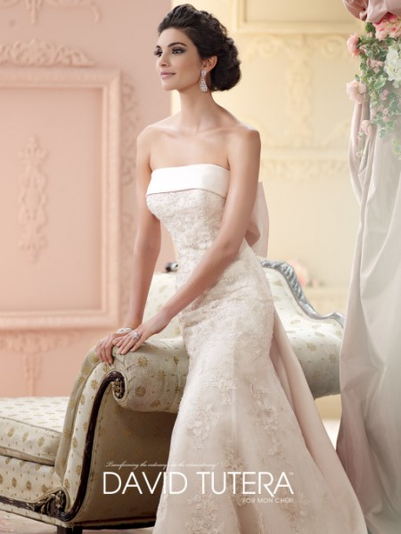 Picture of 215264 - Ilsa Wedding Dress - David Tutera for Mon Cheri Fall 2015 Bridal Collection