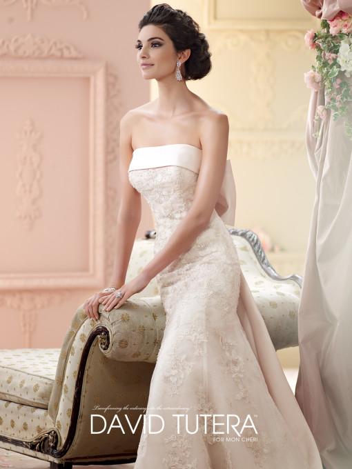 Picture of 215264 - Ilsa Wedding Dress - David Tutera for Mon Cheri Fall 2015 Bridal Collection