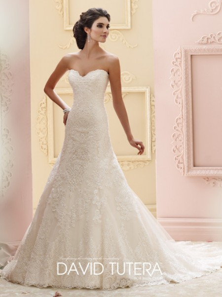 Picture of 215265 - Katharine Wedding Dress - David Tutera for Mon Cheri Fall 2015 Bridal Collection