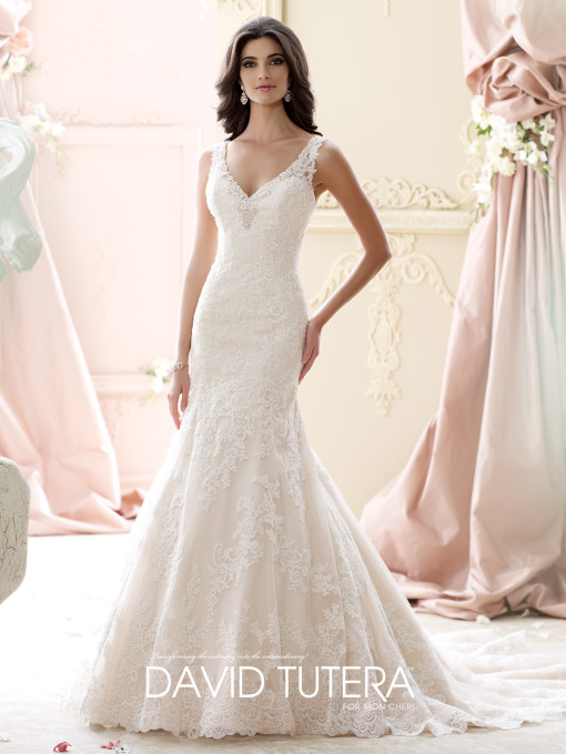 Picture of 215266 - Murron Wedding Dress - David Tutera for Mon Cheri Fall 2015 Bridal Collection