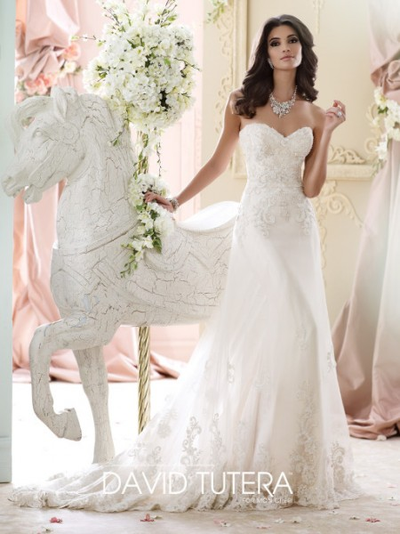 Picture of 215267 - Nala Wedding Dress - David Tutera for Mon Cheri Fall 2015 Bridal Collection