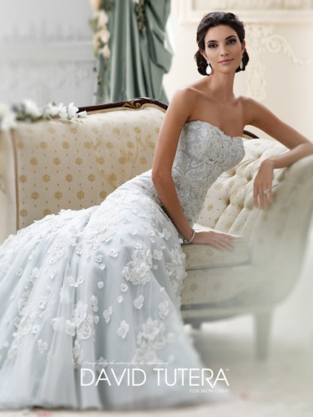 Picture of 215268 - Leia Wedding Dress - David Tutera for Mon Cheri Fall 2015 Bridal Collection