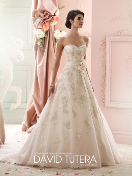 Picture of 215269 - Liesl Wedding Dress - David Tutera for Mon Cheri Fall 2015 Bridal Collection