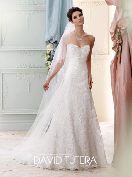 Picture of 215271 - Delia Wedding Dress - David Tutera for Mon Cheri Fall 2015 Bridal Collection