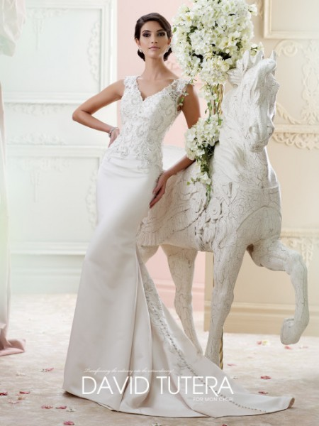 Picture of 215272 - Fantine Wedding Dress - David Tutera for Mon Cheri Fall 2015 Bridal Collection