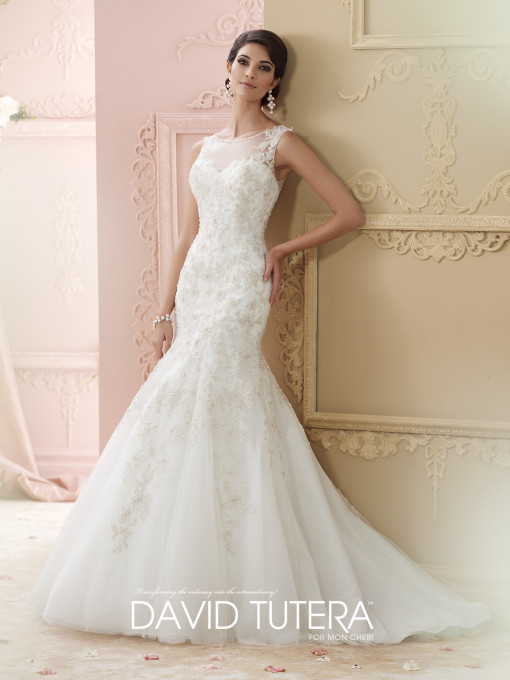 Picture of 215275 - Jenny Wedding Dress - David Tutera for Mon Cheri Fall 2015 Bridal Collection