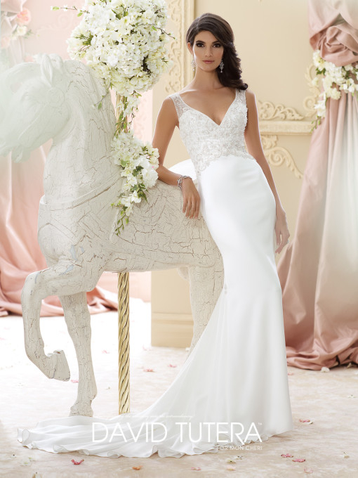Picture of 215276 - Briony Wedding Dress - David Tutera for Mon Cheri Fall 2015 Bridal Collection