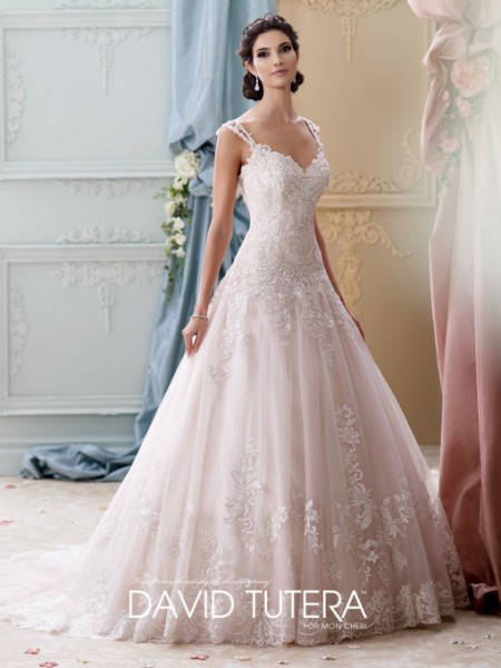 Picture of 215277 - Arwen Wedding Dress - David Tutera for Mon Cheri Fall 2015 Bridal Collection