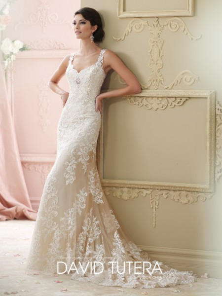 Picture of 215278 - Florine Wedding Dress - David Tutera for Mon Cheri Fall 2015 Bridal Collection