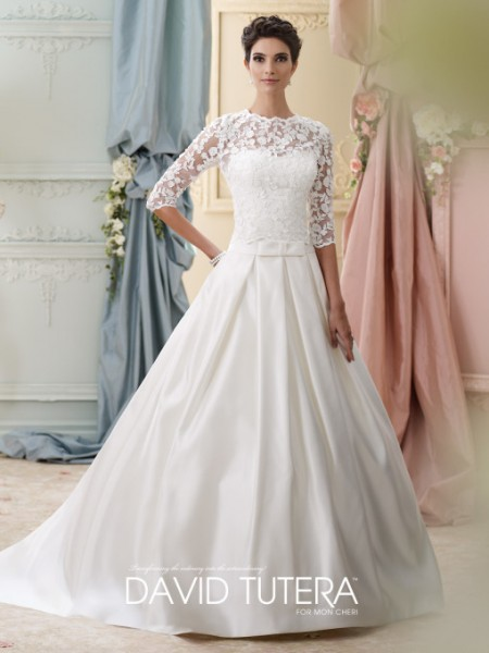 Picture of 215279 - Ellie Wedding Dress - David Tutera for Mon Cheri Fall 2015 Bridal Collection