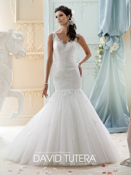Picture of 215280 - Myriamme Wedding Dress - David Tutera for Mon Cheri Fall 2015 Bridal Collection