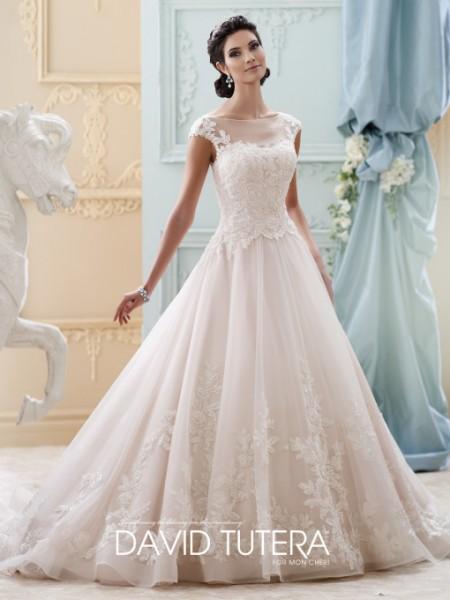 Picture of 215281 - Sherri Wedding Dress - David Tutera for Mon Cheri Fall 2015 Bridal Collection
