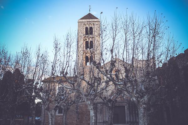 Church of Santa Maria de Vilabertran in Girona