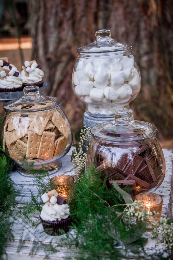 Jars of sweets and biscuits
