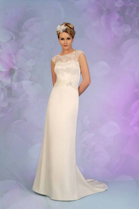 Picture of 5501 Wedding Dress - Tia by Benjamin Roberts 2015 Bridal Collection