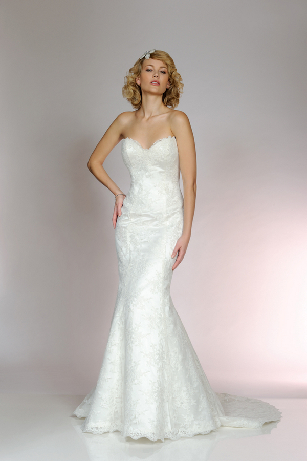 Picture of 5551 Wedding Dress - Tia by Benjamin Roberts 2015 Bridal Collection
