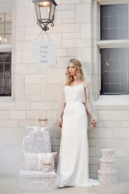 Picture of 5603 Wedding Dress - Tia by Benjamin Roberts 2016 Bridal Collection