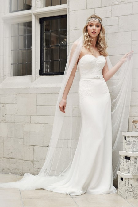 Picture of 5607 Wedding Dress - Tia by Benjamin Roberts 2016 Bridal Collection