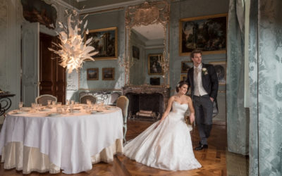 Luxury, Elegant Wedding Styling at Waddesdon Manor