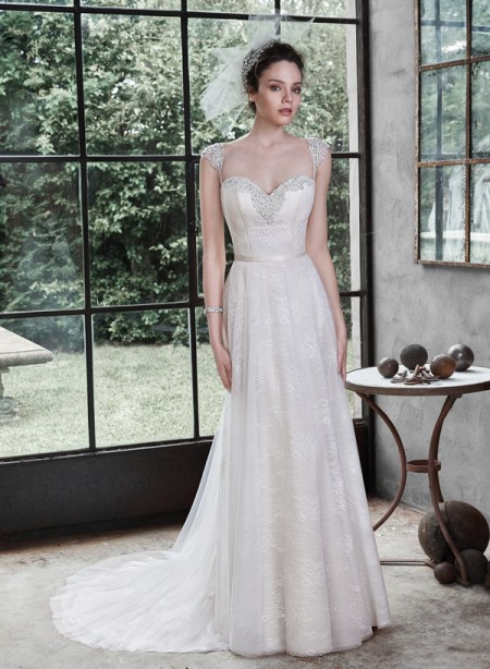 Picture of Alanis Wedding Dress - Maggie Sottero Fall 2015 Bridal Collection