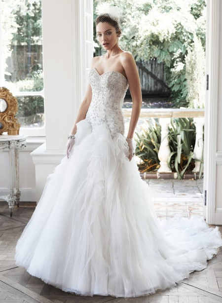 Picture of Aliyah Wedding Dress - Maggie Sottero Fall 2015 Bridal Collection