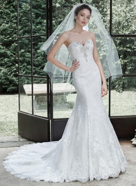 Picture of Amarosa Wedding Dress - Maggie Sottero Fall 2015 Bridal Collection