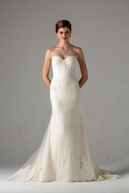 Picture of Avallon Wedding Dress - Anne Barge Fall 2015 Bridal Collection