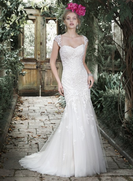 Picture of Azura Wedding Dress - Maggie Sottero Fall 2015 Bridal Collection