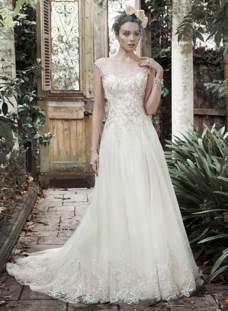 Picture of Barbie Wedding Dress - Maggie Sottero Fall 2015 Bridal Collection