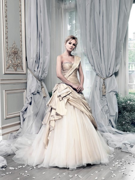 Picture of Beauty Queen Wedding Dress - Ian Stuart Lady Luxe 2015 Bridal Collection