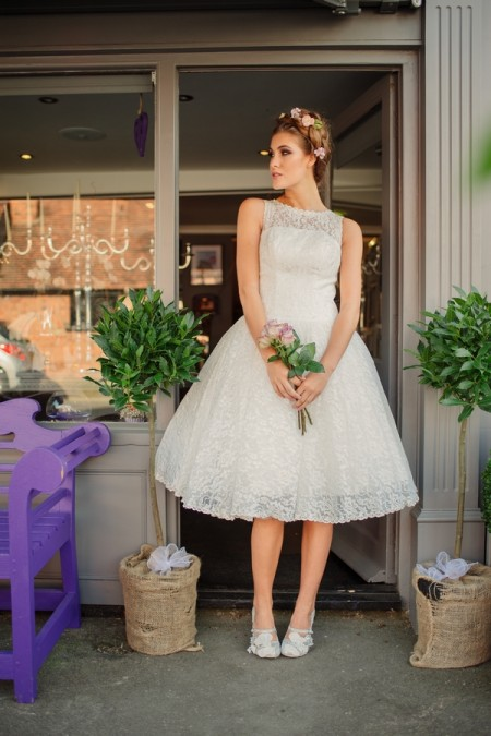 Picture of Betty Blossom Wedding Dress - Kitty and Dulcie Village Affair 2015 Bridal Collection