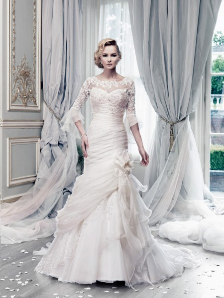 Picture of Bewitched Lace Wedding Dress - Ian Stuart Lady Luxe 2015 Bridal Collection