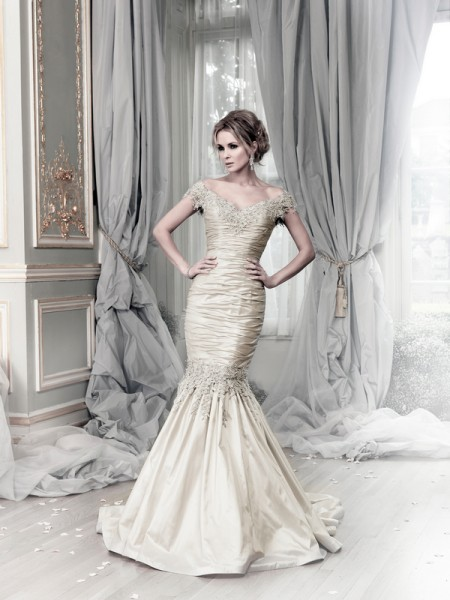 Picture of Brunei Wedding Dress - Ian Stuart Lady Luxe 2015 Bridal Collection