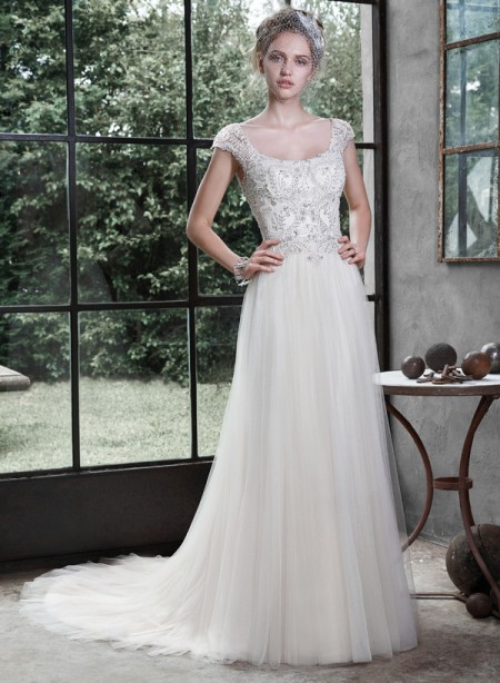 Picture of Caitlyn Wedding Dress - Maggie Sottero Fall 2015 Bridal Collection