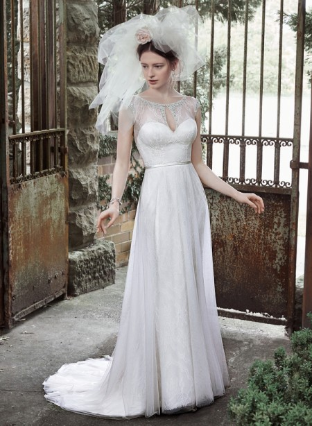 Picture of Cambridge Wedding Dress - Maggie Sottero Fall 2015 Bridal Collection