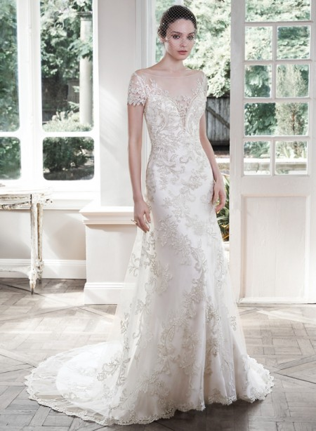 Picture of Carlynne Wedding Dress - Maggie Sottero Fall 2015 Bridal Collection