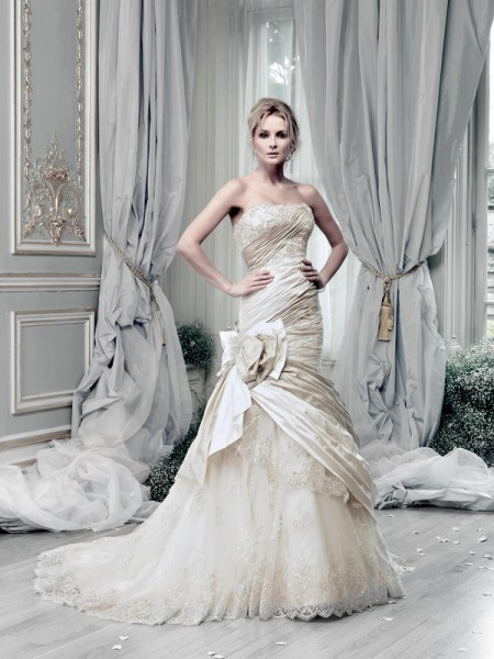 Picture of Carousel Wedding Dress - Ian Stuart Lady Luxe 2015 Bridal Collection