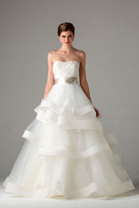 Picture of Castellane Wedding Dress - Anne Barge Fall 2015 Bridal Collection