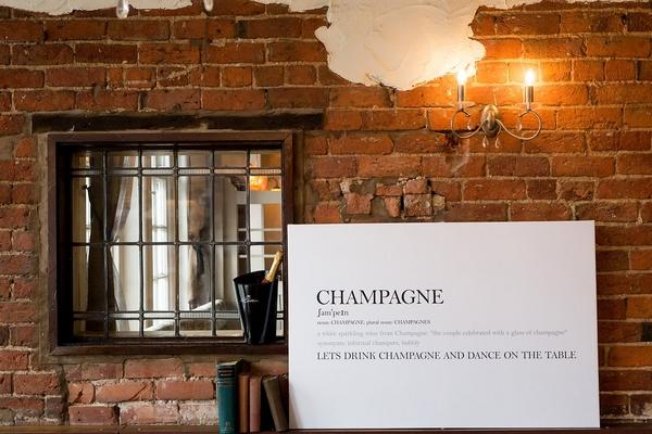 Champagne Canvas Print - RedBlueYou