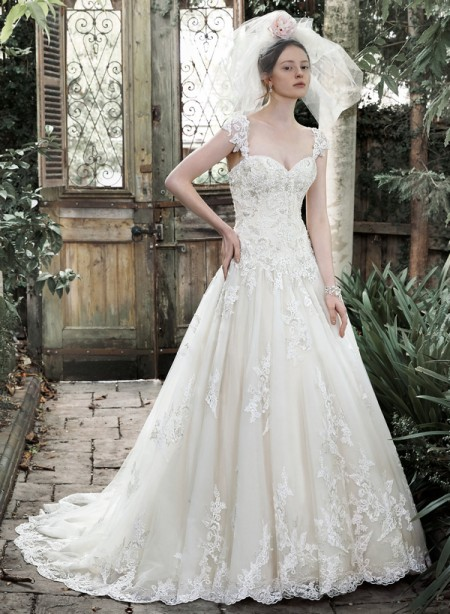Picture of Dallasandra Wedding Dress - Maggie Sottero Fall 2015 Bridal Collection