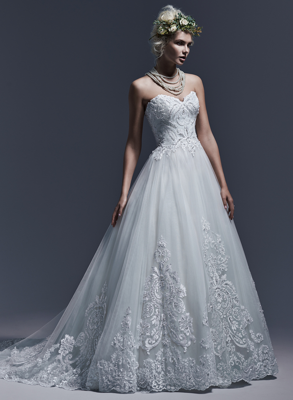 Picture of Dawnelle Wedding Dress - Sottero and Midgley Fall 2015 Bridal Collection
