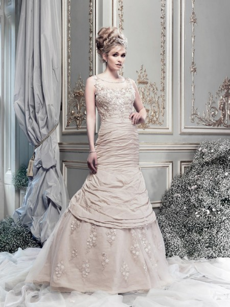 Picture of Electra Wedding Dress - Ian Stuart Lady Luxe 2015 Bridal Collection