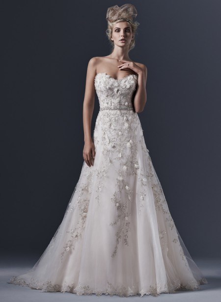 Picture of Elita Wedding Dress - Sottero and Midgley Fall 2015 Bridal Collection