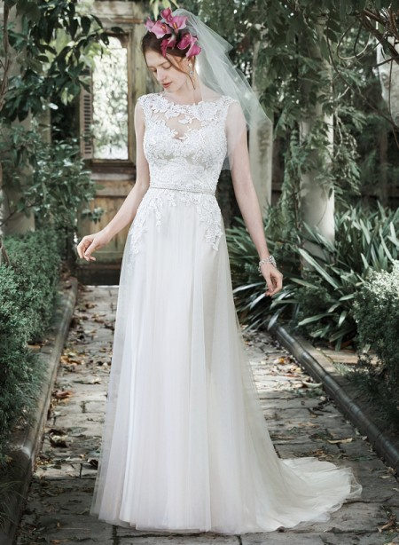 Picture of Elka Wedding Dress - Maggie Sottero Fall 2015 Bridal Collection